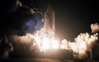 Shuttle Space Launch Night Wallpapers Background Wallpapercave