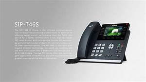 Yealink T46s Poe Ip Phone - Giga Poe 2 7 U0026quot  Lcd