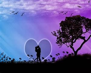 Romantic Lip Kiss Wallpapers