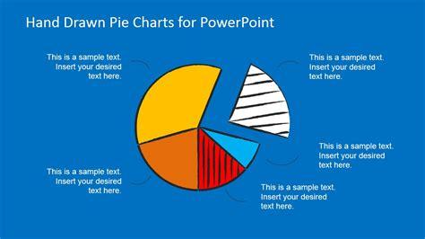 hand drawn pie chart toolkit  powerpoint slidemodel