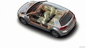 2013 Volkswagen Golf 7  Vii  Electronics  Wire Harness