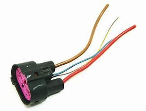Cooling Fans Wiring Plug Pigtail Vw Jetta Rabbit Golf Gti Mk5 Audi A3 1j0 906 23