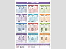 Pakistan 2019 Calendar Holidays Templates Free Printable