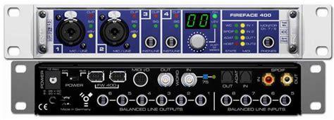 Scheda Audio Interna Professionale - scheda audio firewire rme fireface 400 intefaccia audio