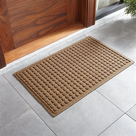 Crate And Barrel Doormat by Thirsty Dots Flax Doormat Crate And Barrel