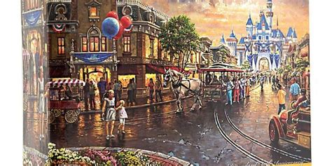 Thomas Kinkade Disneyland 60th Anniversary Diamond