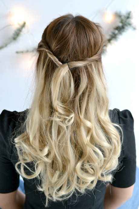 Festliche Frisuren Halboffen Locken Festliche Frisuren Lange Haare