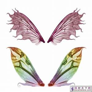 fairy wing template fairy wings elements psd template With fairy wing template