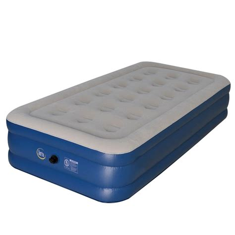 serta 14 quot twin external ac pump backpack airbed