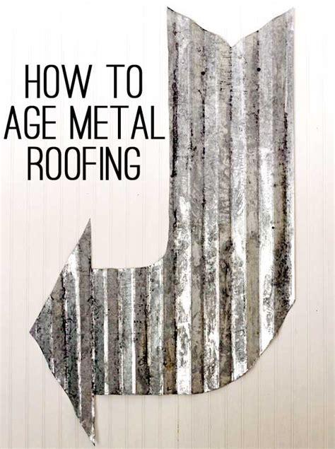 diy metal aging techniques  tutorials shelterness