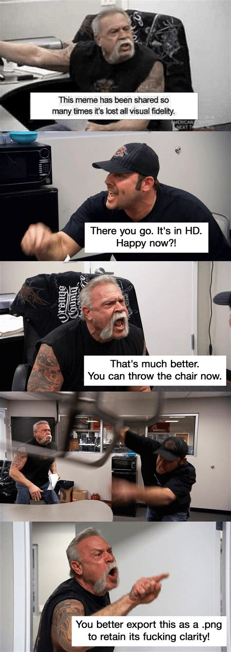 American Chopper Meme Template The Hd Version American Chopper Argument Your Meme