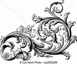 Victorian Filigree Clip Art | Art Graph Design, Ornimental ...