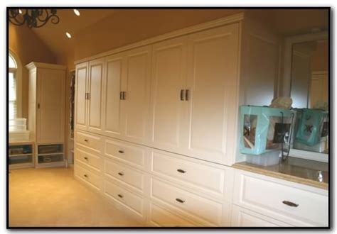 A built in closet system ? functional for a big house