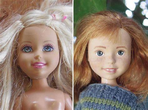 australian mom removes     bratz dolls  give    realistic