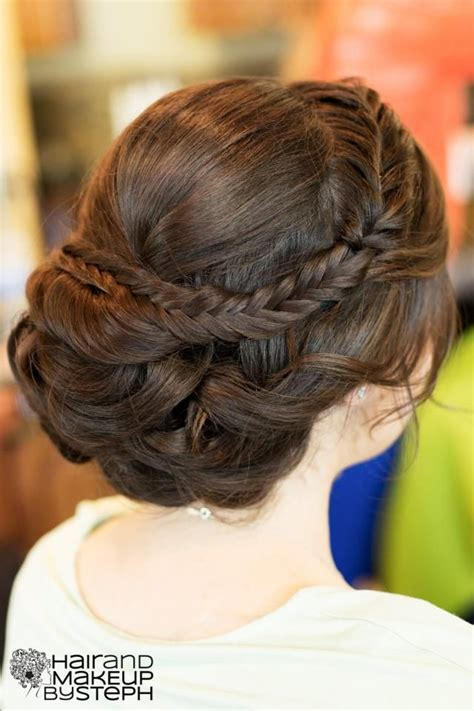 Updo Hairstyles With Braid by 21 All New Braid Updo Hairstyles Popular Haircuts