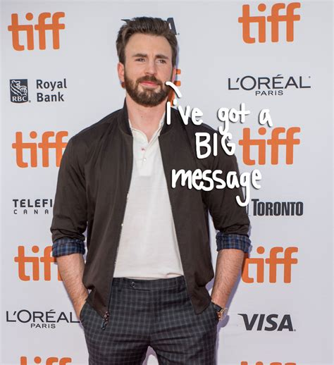 Chris Evans FINALLY Addressed His Nude Photo Leak In The ...