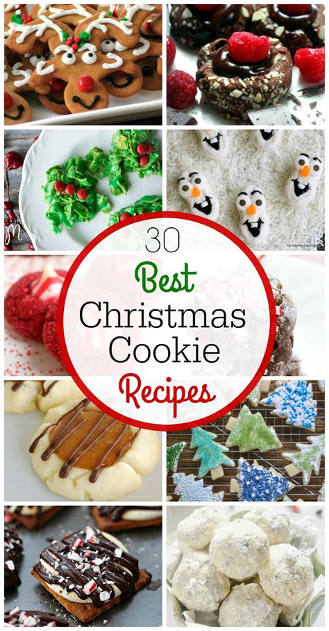 the 30 best christmas cookie recipes lemonsforlulu com