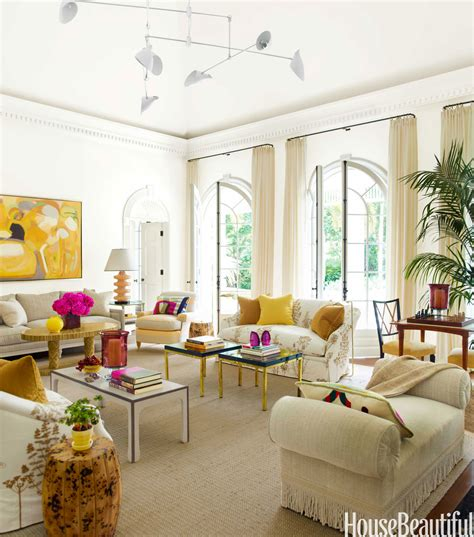 living room with bold color house beautiful pinterest
