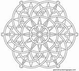 Mandala Coloring Lotus Printable Geometric Steampunk Mandalas Colorear Flowers Flower Geometry Celtic Imprimir Desenhos Try Projects Pintar Sheets Designs Popular sketch template