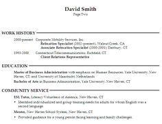 human resource generalist resume search learning