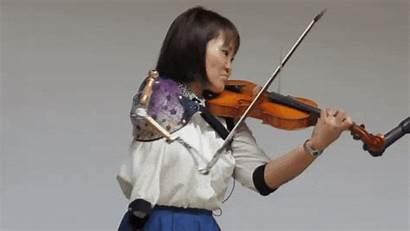 Prosthetic Violin Arm Manami Ito Violinist Plays
