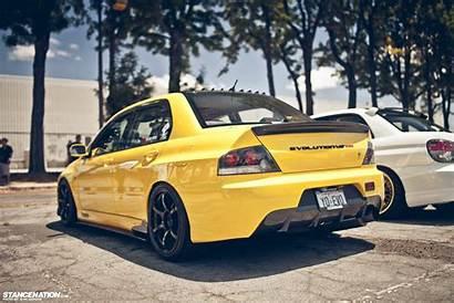Jdm Mitsubishi Lancer Evolution Cars Viii Stance