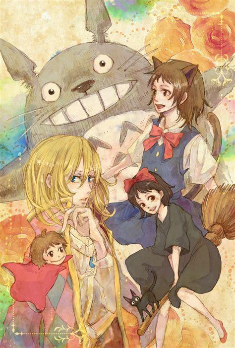 totoro fanart zerochan anime image board
