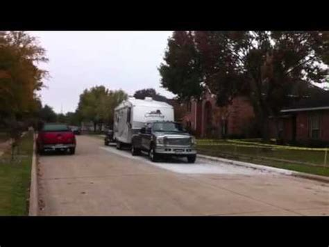 ford  dually power stroke dual double towing