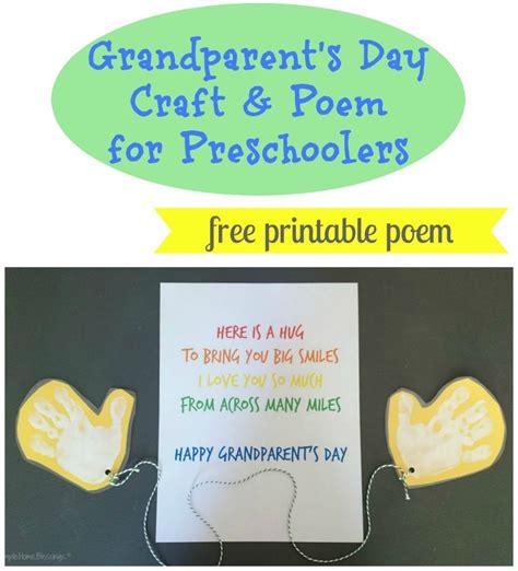 grandparent s day craft for preschoolers simple home 621   Grandparents Day Craft and poem for preschoolers