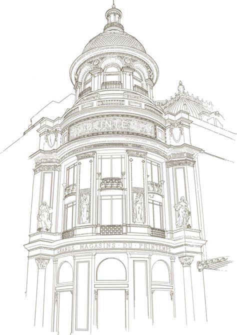 clean  smooth architectural drawings inspiration