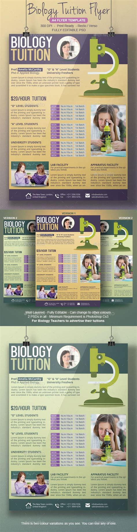 what is a template in biology biology class flyer template flyers biology and flyer template
