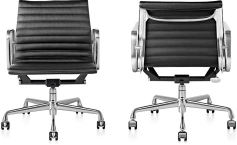 eames 174 aluminum management chair hivemodern