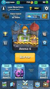 Royale Screen Shot Clash