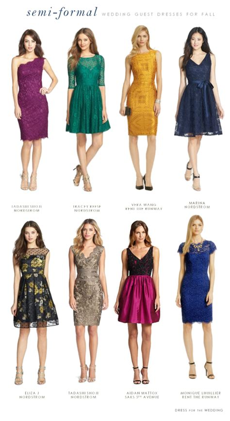 dresses to wear to a fall wedding what to wear to a semi formal fall wedding