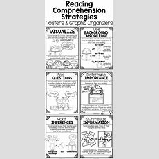 Researchbased Reading Comprehension Strategies Posters (b& W Or Color), Graphic Organizers
