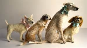 needle felted animals wool paintings and more daily muse