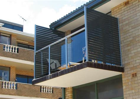 balcony privacy screen aluminium pool fencing northern beaches