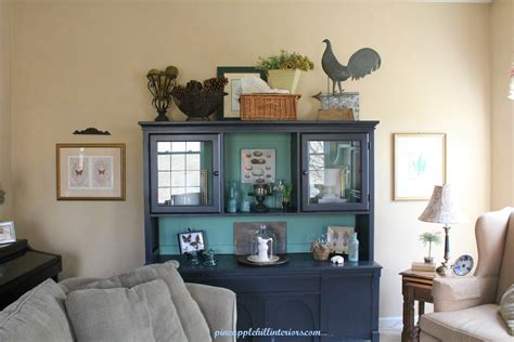 living room hutch update pineapple hill interiors