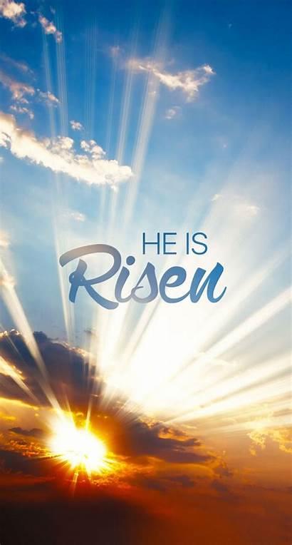 Easter Risen Christian Wallpapers Jesus He Iphone