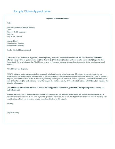 If your insurance provider denies payment for a medical procedure, you will need to write a letter to appeal the decision. provider letter appeal bing images sample insurance claim denial and | Lettering, Medical claims ...
