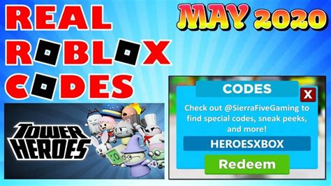 Make sure to drop a like and subscribe if this was helpful. REAL ROBLOX CODES MAY 2020 | TOWER HEROES CODES in 2020 ...