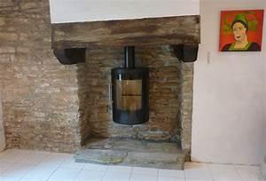 Installer Une Cheminée : poele a bois pour cheminee ouverte energies naturels ~ Premium-room.com Idées de Décoration
