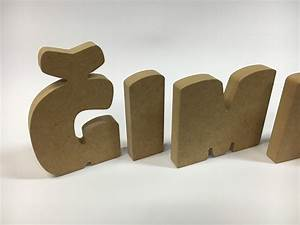 mdf letters letters numbers decorative letters With mdf alphabet letters