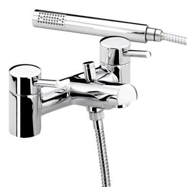 Bristan Prism Bath Shower Mixer by Bristan Prism Deck Mounted Bath Shower Mixer W Handset