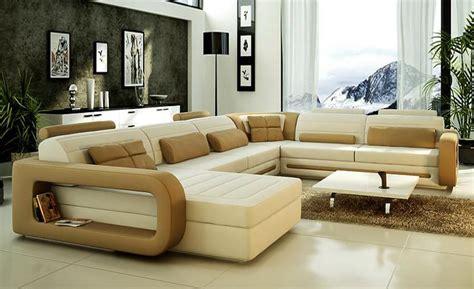 Sofa Modern Design Hot Sale Top Grain Leather Sofas Corner