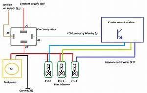 Fuel Pump Relay Wiring Diagrams