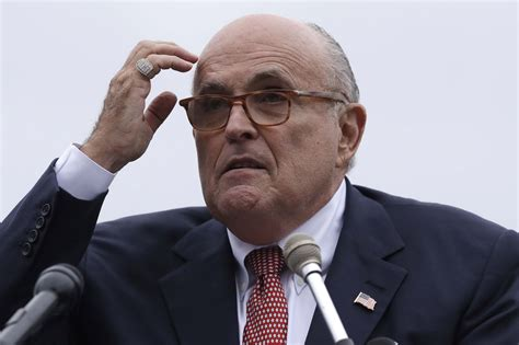Giuliani's apartment at 6 a.m. Rudy Giuliani Is Not Doing His Best Work These Days - POLITICO Magazine