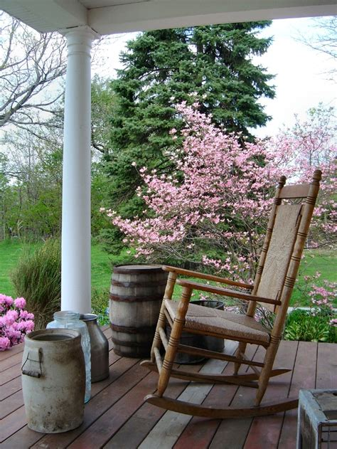 Country Porch With View