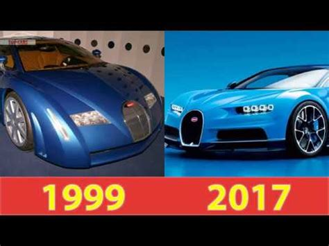 This is a concept study and therefore not subject to directive 1999/94/ec. Top Cars: The Bugatti Chiron Evolution (1999-2017) - YouTube