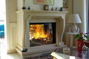 Insert A Granule Pour Cheminee : cheminee insert sur mesure ~ Dode.kayakingforconservation.com Idées de Décoration